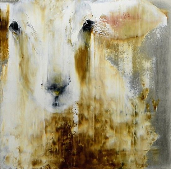 "Marcella by Elsa Sroka Oil ~ 30"" x 30"""