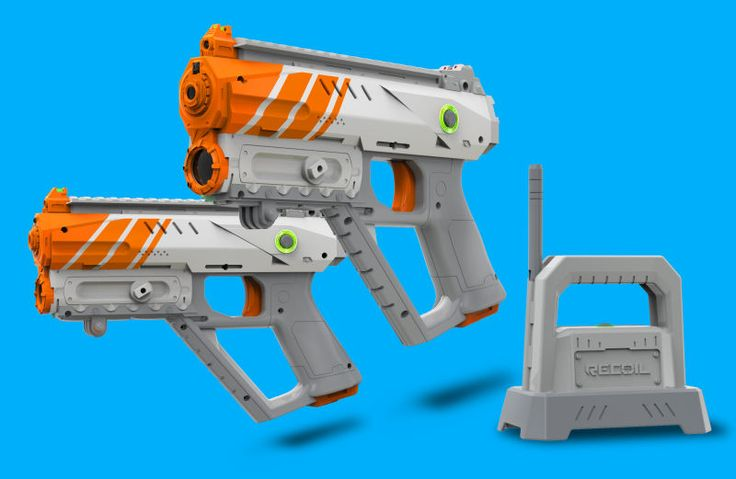 """The pitch was Pokemon Go meets Call of Duty. I couldn't quite fathom how that would turn into a cool as hell game, but it involved augmented reality, a key feature of Pokemon Go, and laser tag, and those are both very fun things. Then I sat down with the team from Skyrocket and got to actually hold one of the guns from its new Recoil laser tag system. """"It's AR adjacent"""" the PR rep said. My interest plummeted, but I gamely let them set up the demo and tried to play for an hour. While it…"""