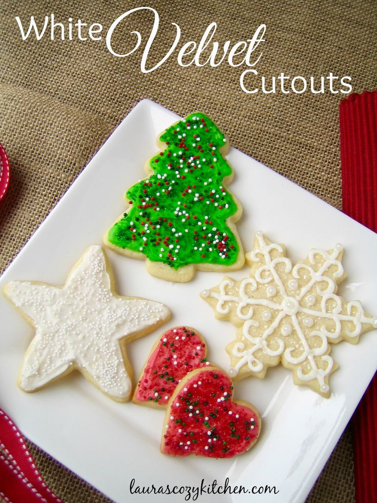 My absolute favorite holiday cutout cookies - these are soft, tender and rich due to the addition of cream cheese.