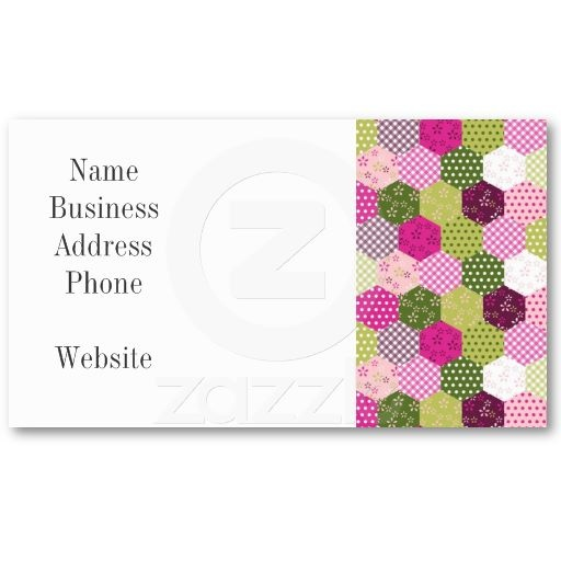 collections of pink and green business cards page2