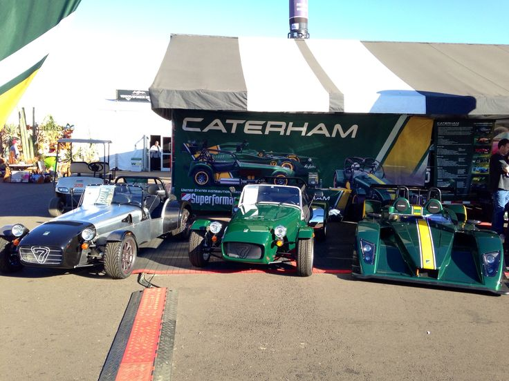 We snapped a few more pictures of the Caterham display at Barrett-Jackson.  These beasts will soon be sold at Hillbank, Irvine.