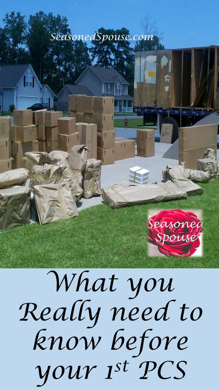 What is PCS? PCS tips for your 1st military move
