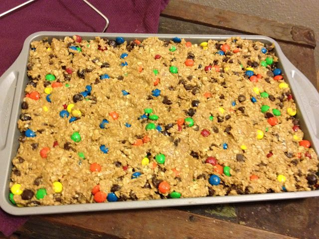 My Favorite Things: Monster Bars {recipe #44}
