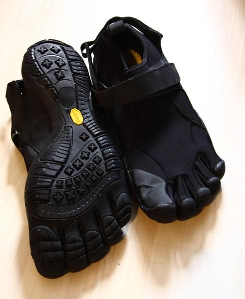 Wander free in the men's Vibram FiveFingers KSO multisport shoes, which offer the freedom of bare feet with the grip and protection of a Vibram sole. Cost: $85