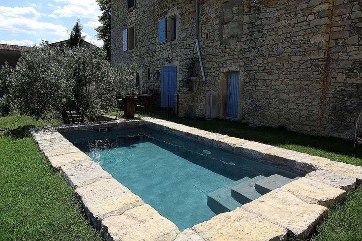 Margelle pierre piscine Diffazur