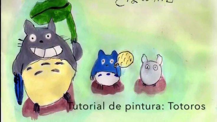 Tutorial de Pintura para niños: Totoro