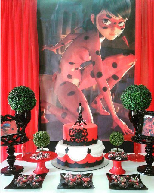 101 fiestas: 10 Ideas para tu mesa de dulces de ladybug