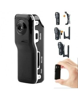 MD80 3 in 1 Mini Digital VIDEO Camera Camcorder POCKET DV with 720*480 pixels, Viewing Angle: 60 Degree(Black)