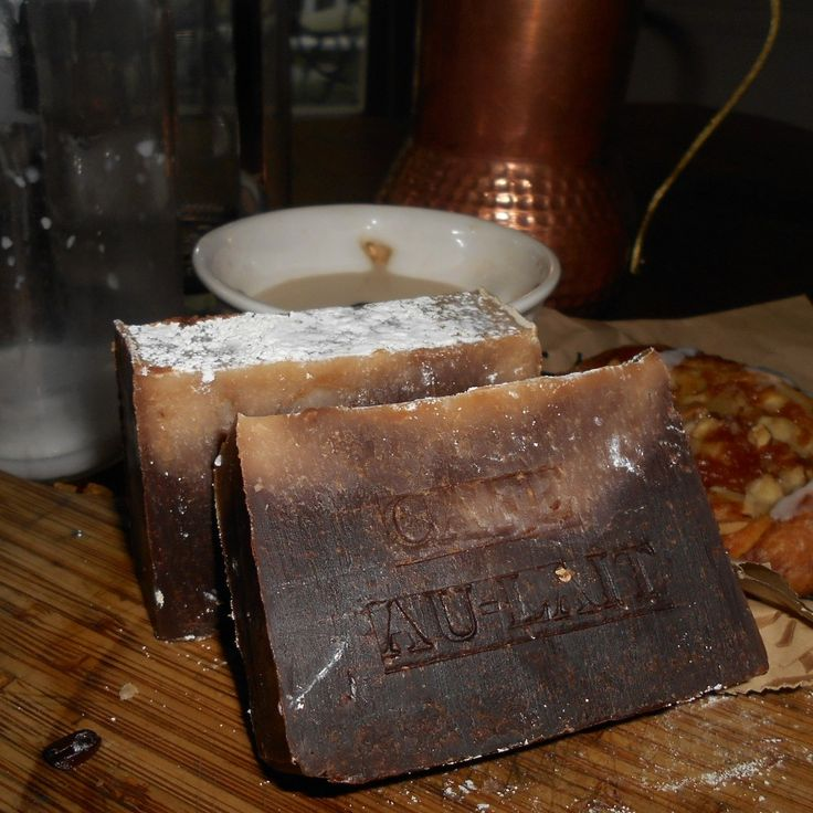 Best Coffee Maker Cafe Au Lait : 173 best Coffee Soap images on Pinterest Coffee soap, Handmade soaps and Natural soaps
