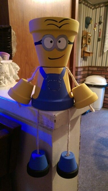 Minion planter or candy dish $15 plus S&H.