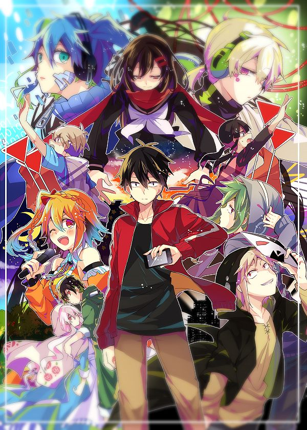 17 Best images about Mekakucity Actors on Pinterest | So ...