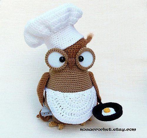 Owl Crochet Patterns by Tamara Nowack 4