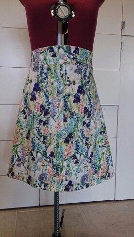 Colette pattern Ginger skirt