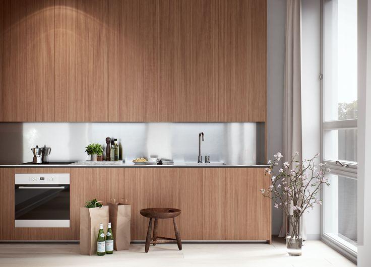 Oscar Properties  #oscarproperties Stockholm, Zootomiska, Lyceum, interior, design, kitchen
