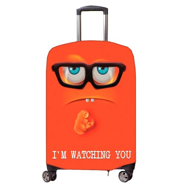 Чехол на чемодан Я слежу за тобой   Dreamhold
