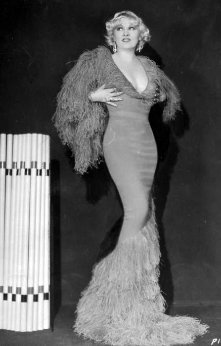 """Why don't you come on up and see me sometime.. when I've got nothin' on but the radio."" -Mae West"