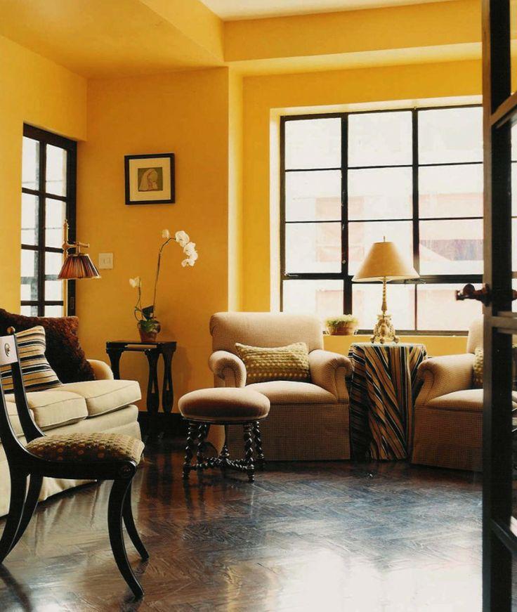 Amanda Nisbet Tangerine Walls Interior Color
