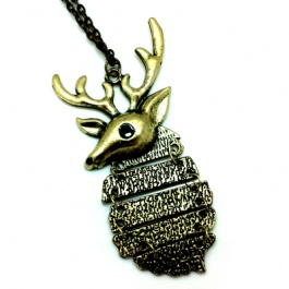 Alpine Stag Necklace