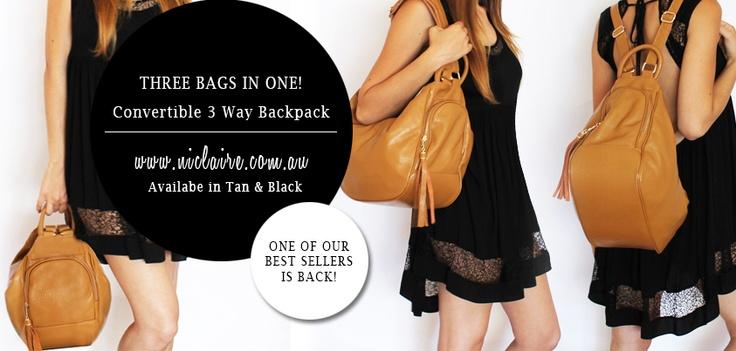 Get it now! http://www.niclaire.com.au/category/32-mini-bags.aspx