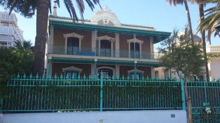 """Villa Amparo. El estilo #afrancesado de cada una de estas #villas de Benicàssim, así como la presencia en ellas de personajes reconocidos de la alta sociedad, generaría el apodo de #Benicàssim como el """"Biarritz de #Levante""""."""