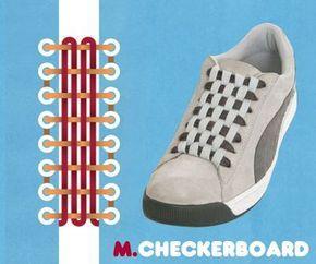 3bf929ad04737a これはおしゃれ、15の靴ひもの結び方 | 知恵 | 靴紐、靴紐 結び方 ...