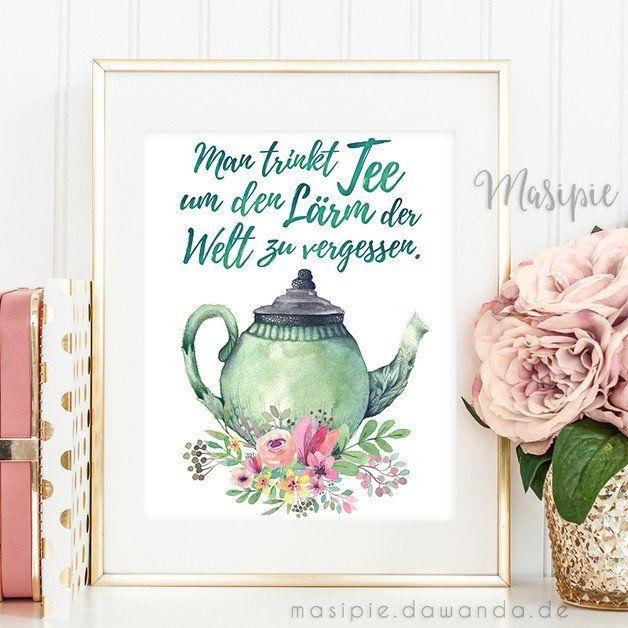 Für Eine Gemütliche Tasse Tee Sollte Immer Mal Wieder Zeit Sein! | Https:/