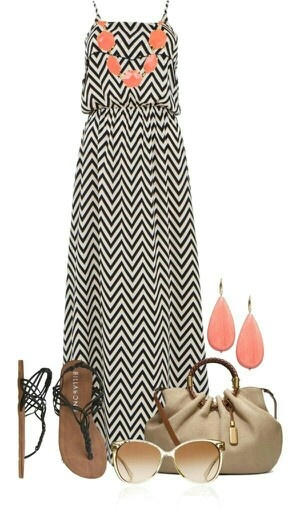 Adorbz beach fashion Love the Chevrons & Coral jewels, would look cute with Tiffany Bleu Jewels as well...