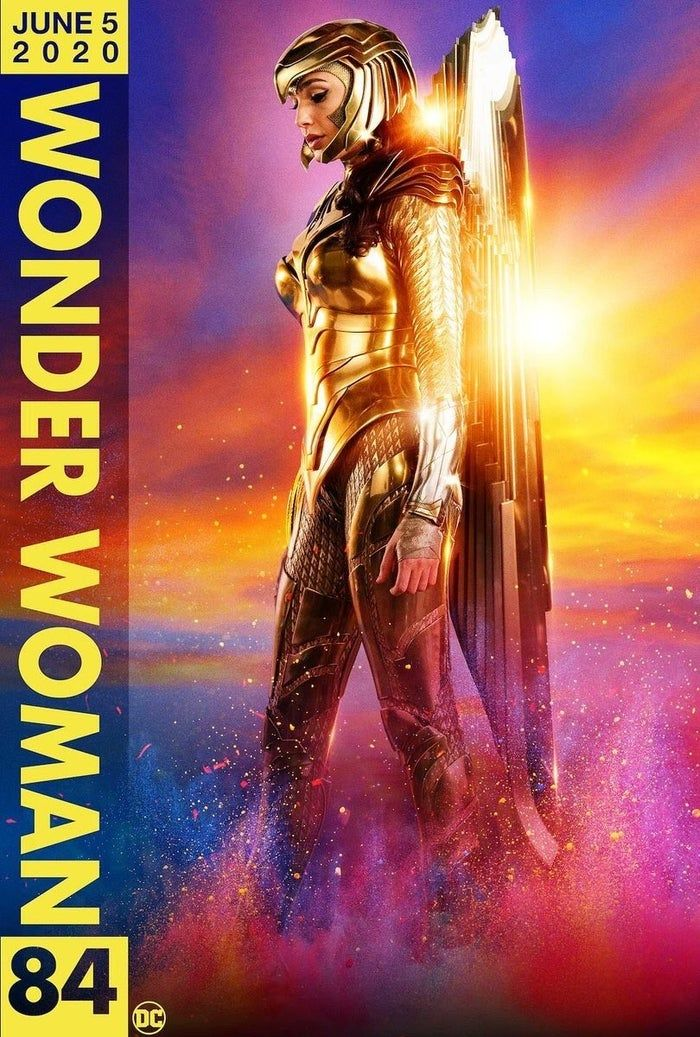 New Wonder Woman 1984 Gold Eagle Armor Posters Released In 2020 Wonder Woman Gal Gadot Wonder Woman Wonder Woman Art