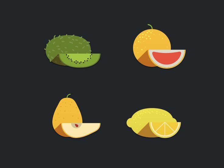 Fruits Icon 2 by Nick Zhukov