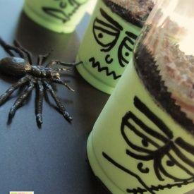 "Mousse al cioccolato ""bianco"" – Frankenstein. Condivisa da: http://ideeintavola.wordpress.com"