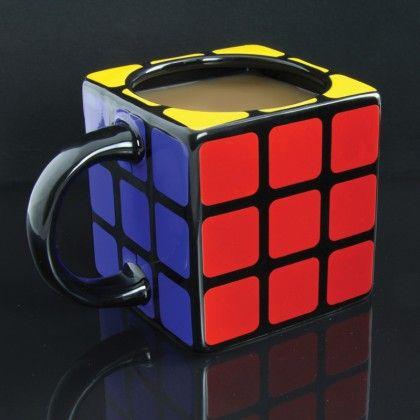 Rubiks Cube Shaped Mug - AlphaGeek, 12 e
