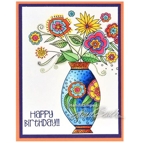 Laurel Burch Rubber Stamps - Crafts / Cardmaking / Stamping - Memorycrafts.co.nz