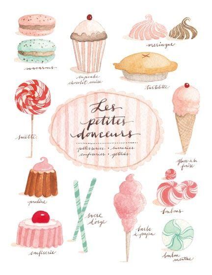 eva juliet dessert art