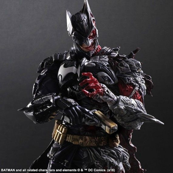 Figurine Batman Play Arts Two Face 06
