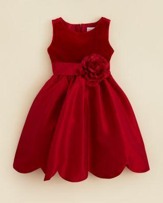 Kleinfeld Pink Girls' Giada Velvet Bodice Dress - Sizes 4-6X | Bloomingdale's