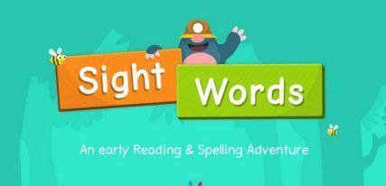 Sight words Application anglais