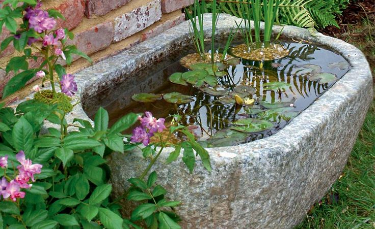 kein platz fr einen groen teich kein problem ein quellstein ein kleines becken - Schone Japanische Gartengestaltung Landschaftsgestaltung Ideen Fur Kleine Raume