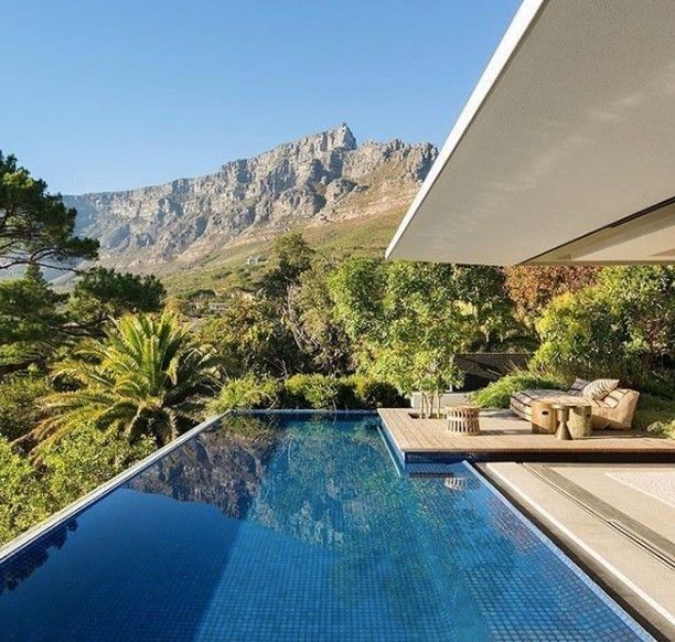 Swimming Pools Inspiration And Ideas Nature Geometry Minimal Architecture Style Pool Outdoorpool Architecture Kloof Pyramid Roof