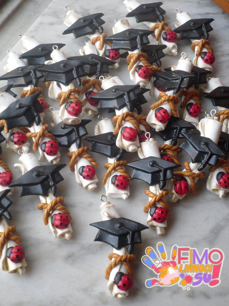 pergamene laurea in fimo