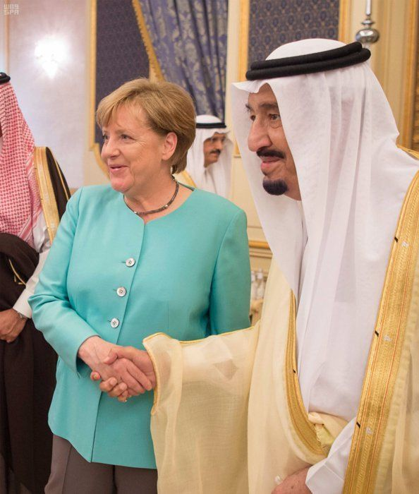 Angela Merkel Acknowledges 'Significant Changes' In Role Of Saudi Women  Germany's leader was in Jeddah to meet with King Salman of Saudi Arabia.  German Chancellor Angela Merkel has met with a group of female entrepreneurs in Saudi Arabia to examine progress being made in gender equality.