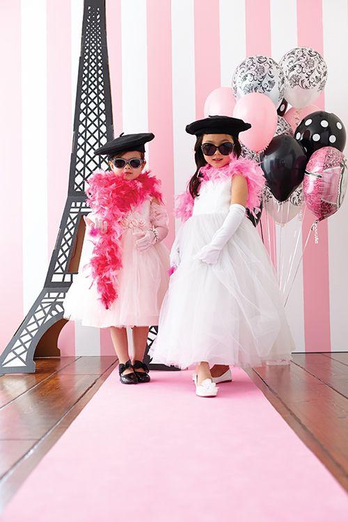 DIY Paris-Themed Party. SO adorable..