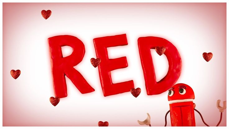 Ah, red, the color of love! Kids and parents alike will love this rap about all things red, from strawberries to clown noses! → http://sbot.co/17pqtrN The St...