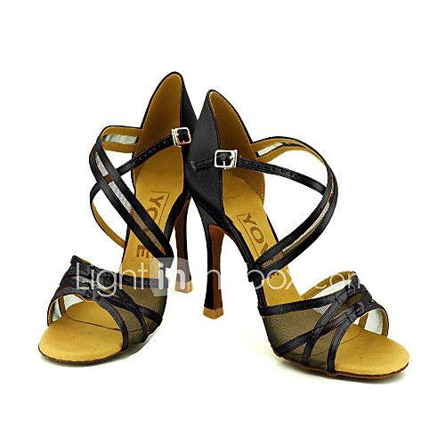 Zapatos de baile (Negro) - Danza latina/Salón de Baile - Personalizados - Tacón Personalizado 2017 - €23.49