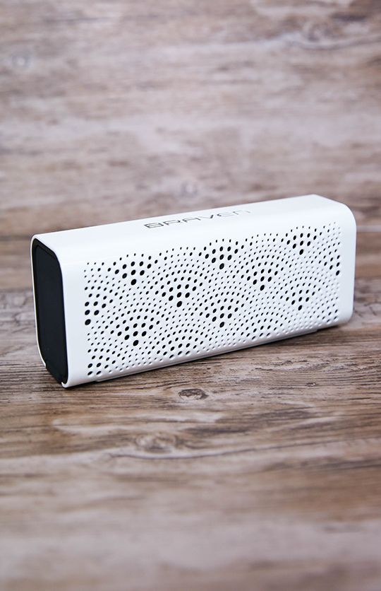 Braven - LUX Portable Bluetooth Speaker - Pearl | Apartment | Peppermayo