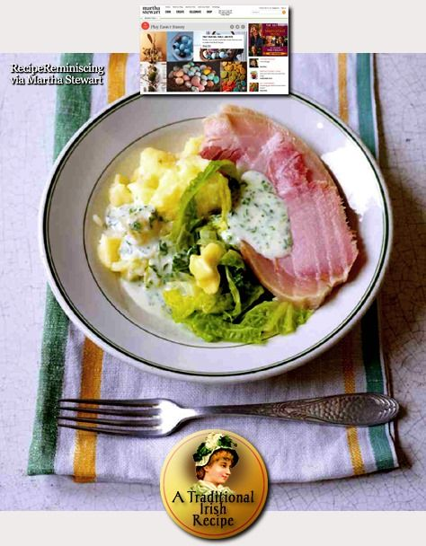 Traditional Irish Bacon, Cabbage, and Parsley Sauce / Tradisjonell Irsk Bacon, Kål og Persillesaus