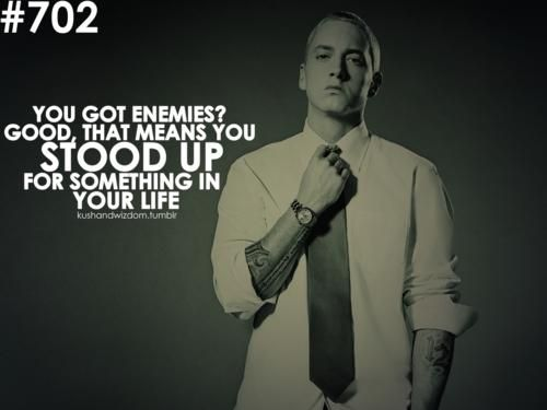 Motivational Quotes By Eminem.