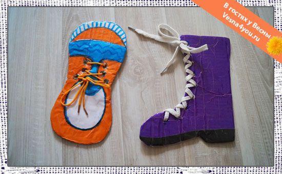"""Игры со шнурками для детей - Обзоры наших любимых игрушек - Статьи блога """"В…"""