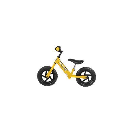 - Беговел, желтый, NEW MARS  — 4699р. -------------------------- Для малышей от трех до пяти лет специалисты создали велобег - заменитель двухколесного велосипеда.  Это велосипед - без педалей и цепи, он учит в первую очередь держать равновесие, на нем ребенок не сможет сильно разогнаться. На велобеге очень комфортно ездить благодаря продуманному размеру колес, их размер точно вымерен для того, чтобы обеспечить устойчивость на поворотах. С помощью велобега ребенок будет также развивать…