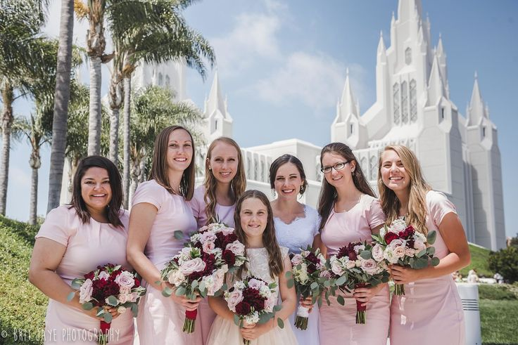San Diego Temple Wedding in La Jolla, CA — San Diego Wedding Photography