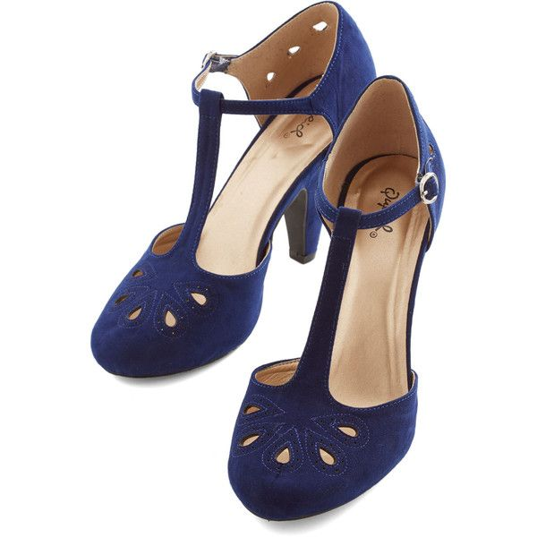 ModCloth Vintage Inspired, 20s, 30s, Scholastic Dynamic Debut Heel and other apparel, accessories and trends. Browse and shop 42 related looks.